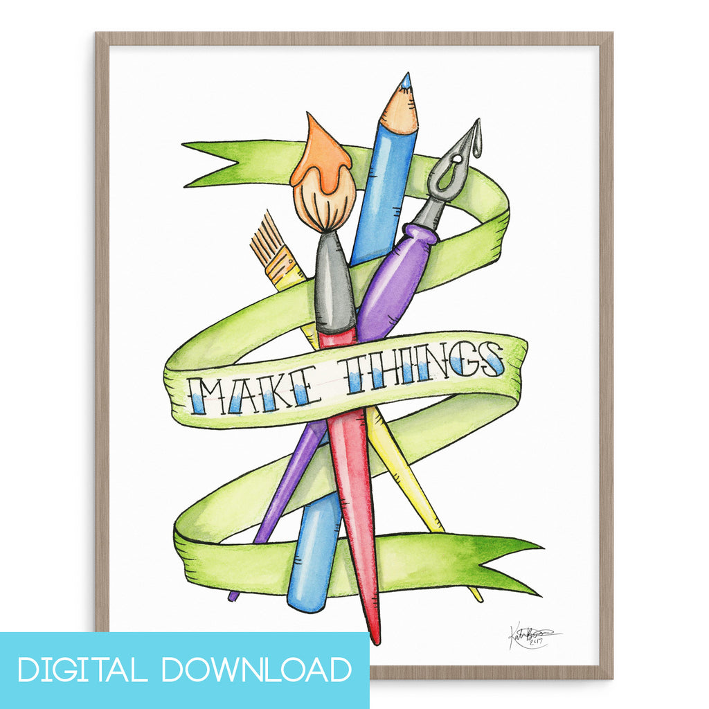 Make Things 8x10 Digital Download