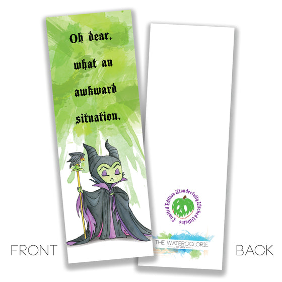 Maleficent Bookmark - LIMITED EDITION