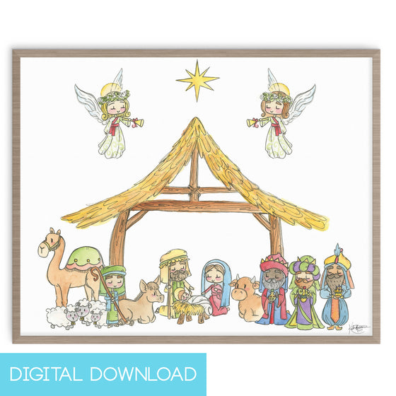 O Holy Night 8x10 Digital Download
