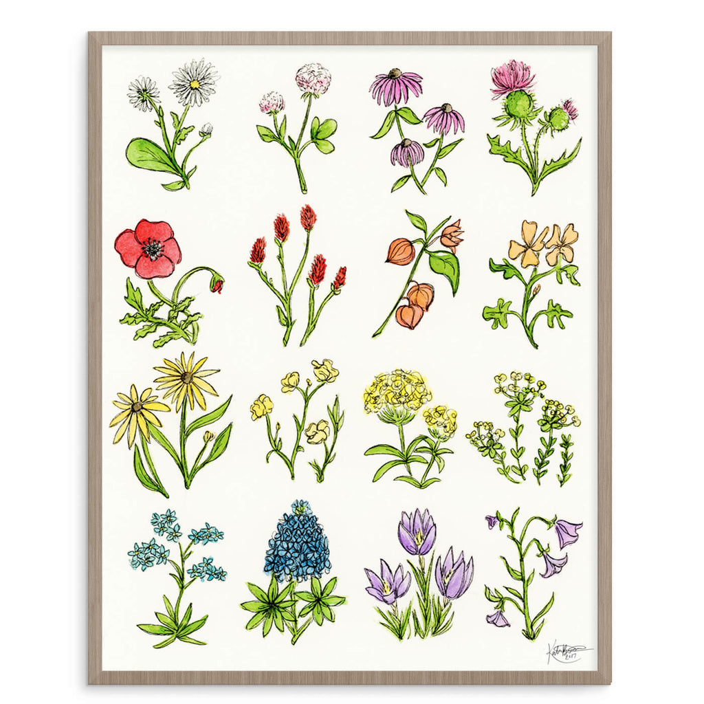 Wildflowers 8x10 Digital Download