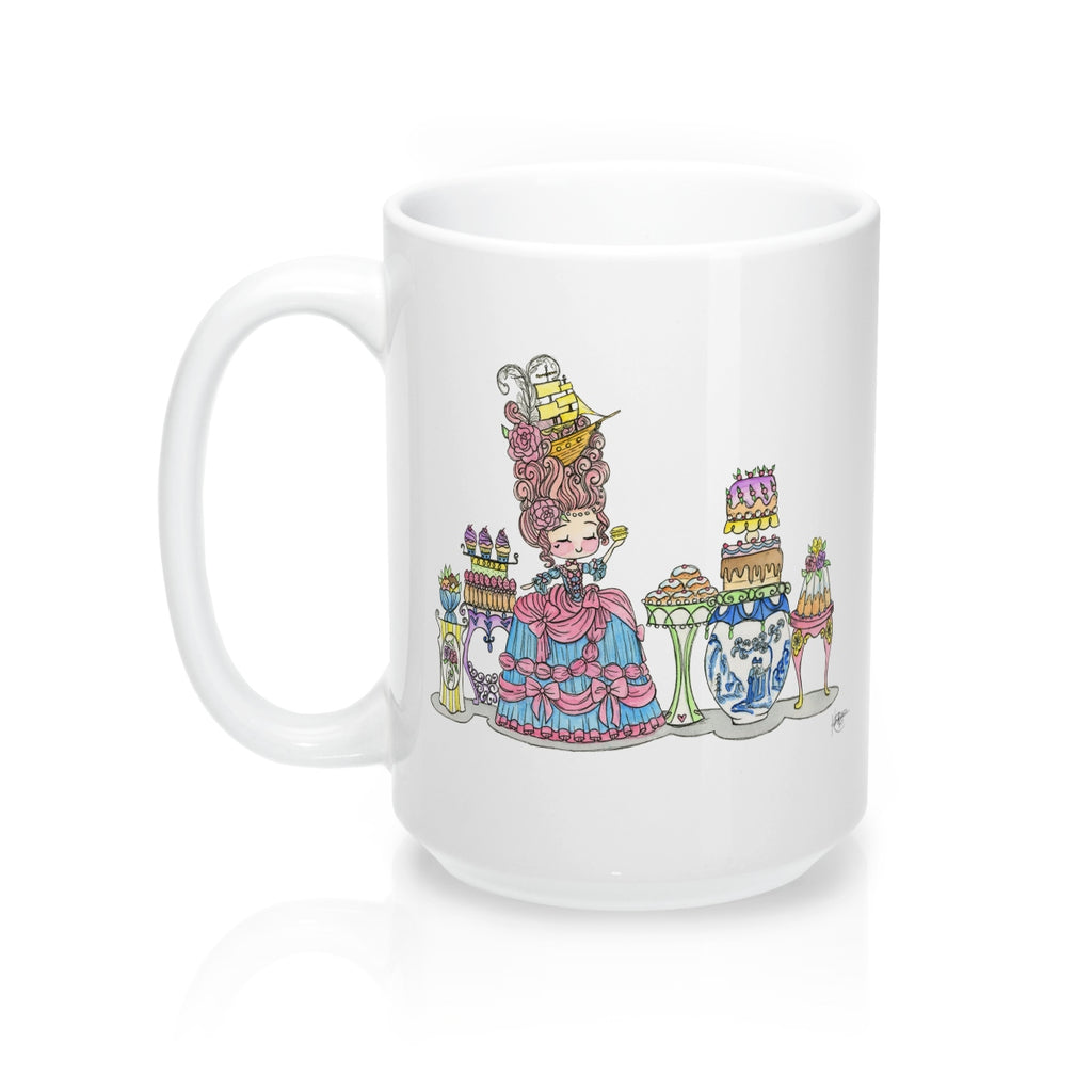 Let Them Eat Cake Mug 15oz