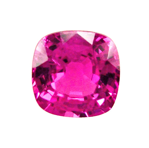 1.05 ct Fancy Pink Sapphire Cushion