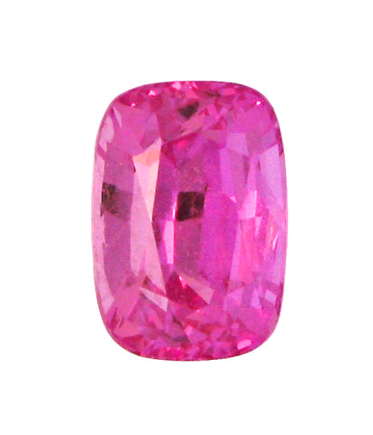 2.28 ct Fancy Pink Sapphire Cushion