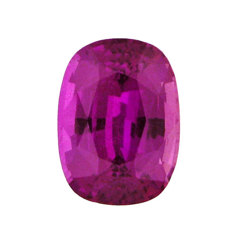 2.65 ct Fancy Purple Sapphire Cushion