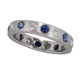Sapphire and Diamond Flat Band