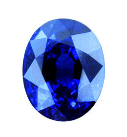 1.50 ct Blue Sapphire Oval