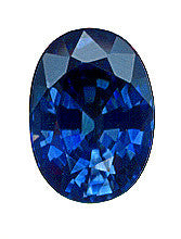 1.04 ct Blue Sapphire Oval