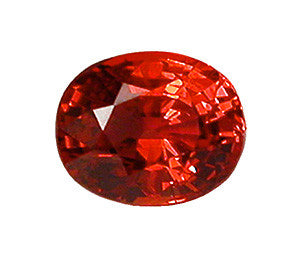 1.78 ct Fancy Pomegranate Sapphire Oval