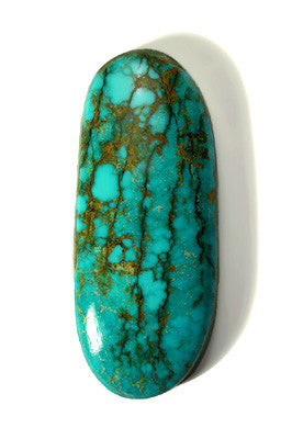 Large Oval Turquoise