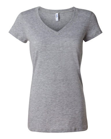 Premium Ladies Cut V-Neck