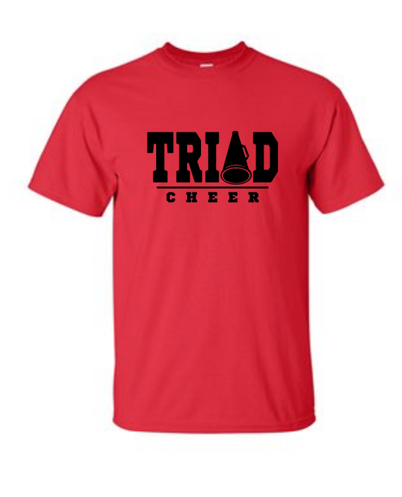 Triad Cheer - Cotton Tee