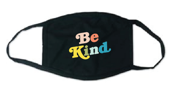 Adult Face Mask - Be Kind