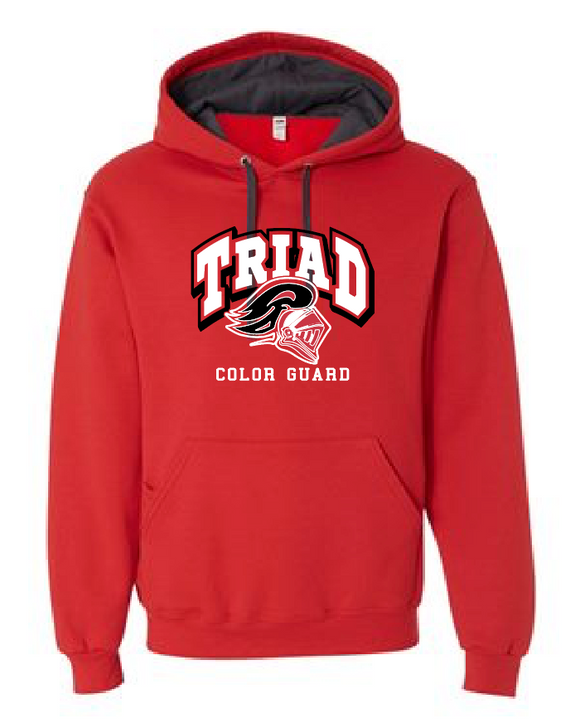 Red Hoodie - Triad Color Guard