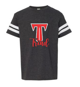 "Triad Stripe Sleeve Tee - ""T-Sword"""