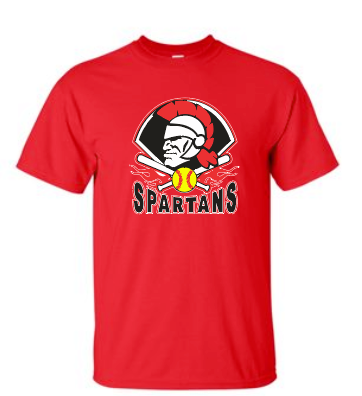 Spartans Softball - Cotton Tee