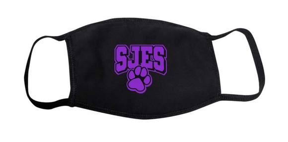 YOUTH Cotton Face Mask - St. Jacob Cubs