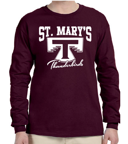 St. Mary's Cotton Long Sleeve Tee