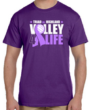 Volley 4 Life short sleeve tee - Not Personalized