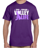 Volley 4 Life short sleeve tee's - Not Personalized