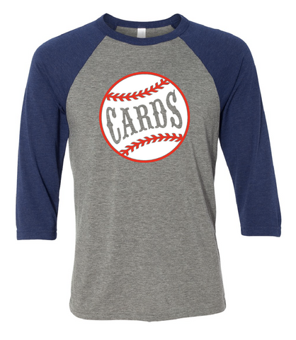 Cards Baseball Sleeve Tee
