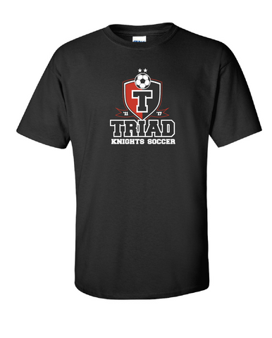 Cotton Tee - Triad Soccer State Champs