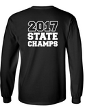 Cotton Long Sleeve Tee - Triad Soccer State Champs