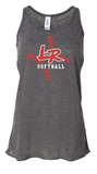Lady Roughnecks LR Levin Flowy Tank