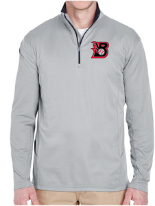 "Barn Burners ""B"" - 1/4 Zip Jacket"