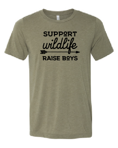 Support Wildlife - Raise Boys
