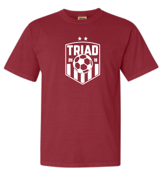 Comfort Colors Short Sleeve - Triad Soccer