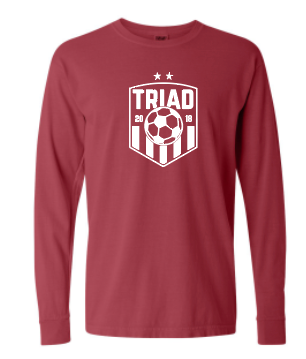Comfort Colors Long Sleeve - Triad Soccer
