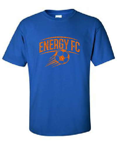 GLITTER Cotton Tee - Energy FC