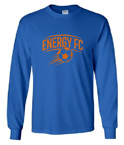 GLITTER Cotton Long Sleeve - Energy FC