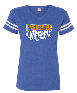 Energy Mom - Stripe Sleeve Tee