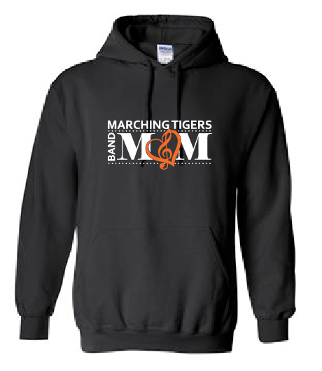 Band Mom Hoodie - Marching Tigers