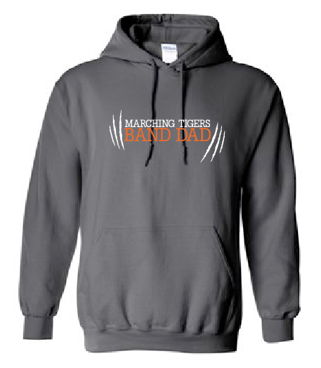 Band Dad Hoodie - Marching Tigers