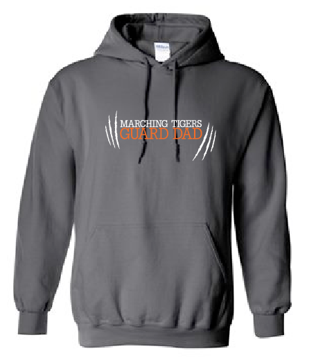 Guard Dad Hoodie - Marching Tigers