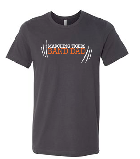 Band Dad Short Sleeve - Marching Tigers