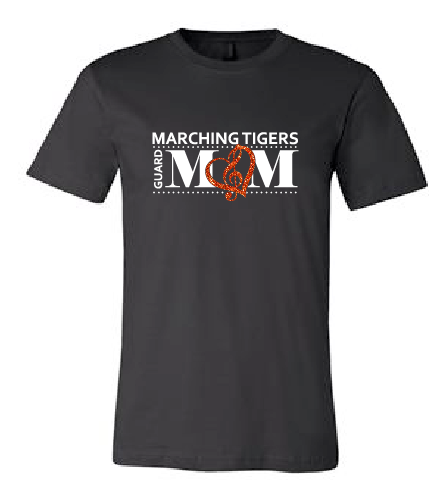 Guard Mom Short Sleeve - Marching Tigers