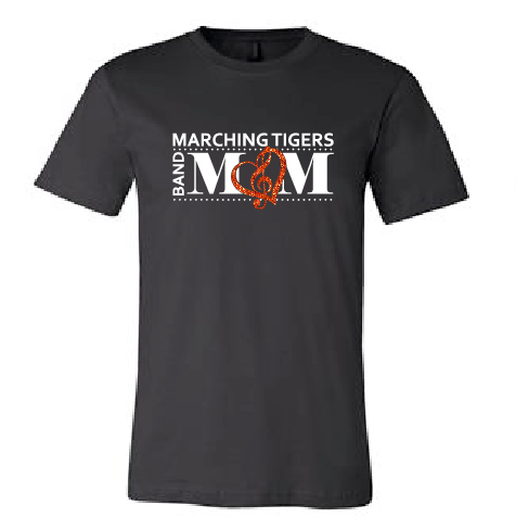 Band Mom Short Sleeve - Marching Tigers