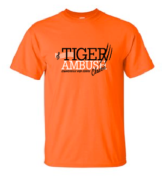 Cotton Short Sleeve - Tiger Ambush