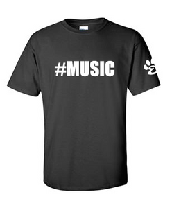#Music - Cotton Short Sleeve