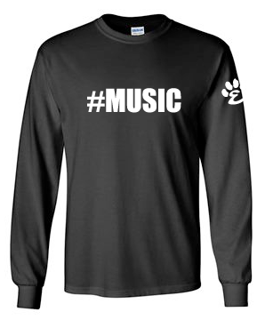 #Music - Cotton Long Sleeve