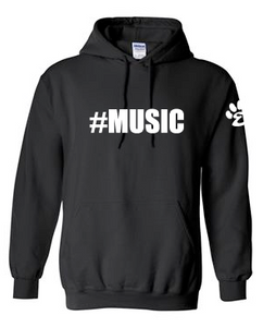 #Music - Cotton Hoodie