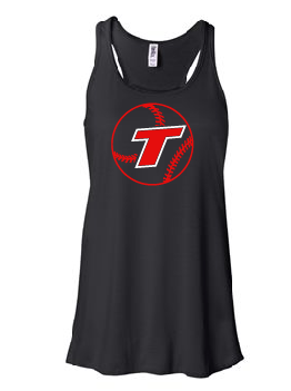 Thunder Baseball Flowy Tank [color options]