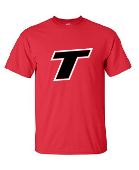 Thunder Baseball T Cotton Tee