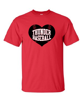 Thunder Baseball Cotton Tee [color options]