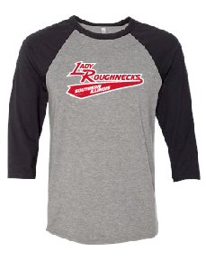 Lady Roughnecks - Baseball Sleeve Tee
