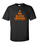 We Bleed Orange - Cotton Tee [color options]