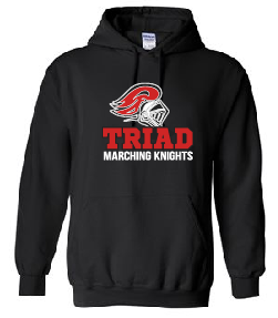 Hoodie - Triad Marching Knights